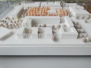 EBZ Neubau Modell Architektenwettbewerb