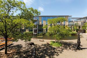 Außenansicht des EBZ in Bochum