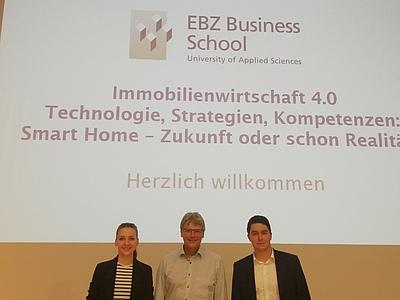 EBZ Veranstaltungsreihe Immobilienwirtschaft 4.0