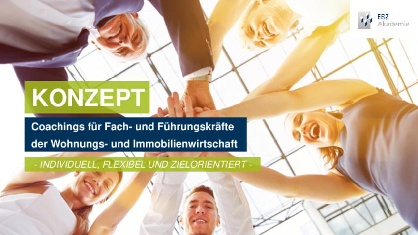 KONZEPT - Coachings für Fach- und Führungskräfte der Wohnungs- und Immobilienwirtschaft