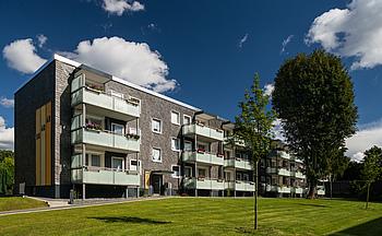 VBW-Quartier: Fertige Modernisierungsmaßnahme - Vergrößerte Balkone