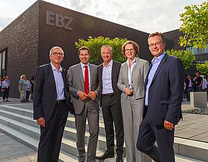 EBZ Neubau Bochum Einweihung 2018 mit Gästen
