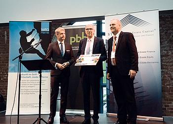 """EBZ Klaus Leuchtmann Innovationspreis """"Immobilienköpfe des Ruhrgebiets 2018"""""""